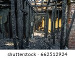 Burned Down Wooden Apartment...