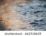 Texture Of Water With Small...