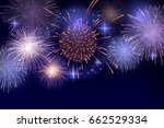 vector brightly colorful... | Shutterstock .eps vector #662529334