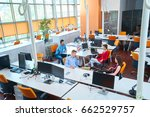 startup business people group...   Shutterstock . vector #662529757