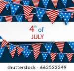 blue usa independence day... | Shutterstock .eps vector #662533249