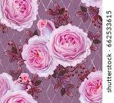 floral seamless pattern. branch ...   Shutterstock . vector #662533615