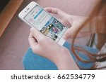 chiangmai  thailand   june 19 ... | Shutterstock . vector #662534779