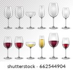 set transparent vector empty ... | Shutterstock .eps vector #662544904
