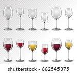 set transparent vector empty ...   Shutterstock .eps vector #662545375