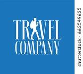 travel company vector logo ...   Shutterstock .eps vector #662549635