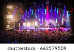 moscow 30 november 2014  music... | Shutterstock . vector #662579509