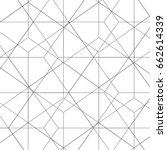 vector abstract hexagon pattern.... | Shutterstock .eps vector #662614339