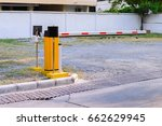 automatic rising arm access... | Shutterstock . vector #662629945