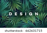 bright tropical background with ... | Shutterstock .eps vector #662631715