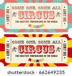circus ticket icon | Shutterstock . vector #662649235