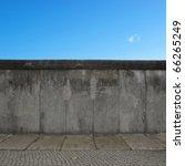 the berlin wall  berliner mauer ... | Shutterstock . vector #66265249