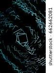 dark blue blurry rectangular...   Shutterstock . vector #662662081