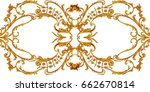 decorative abstract composition ...   Shutterstock . vector #662670814