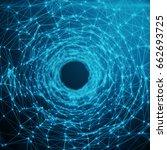abstract futuristic speed... | Shutterstock . vector #662693725