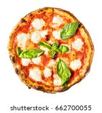 the archetype of a thin crust... | Shutterstock . vector #662700055