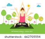 illustration poster or banner... | Shutterstock .eps vector #662705554