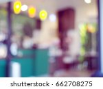 abstract beautiful blurred... | Shutterstock . vector #662708275