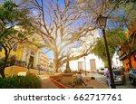 san juan streets on a bright... | Shutterstock . vector #662717761