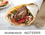 turkish and arabic traditional... | Shutterstock . vector #662733505