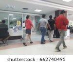 blurred background people man... | Shutterstock . vector #662740495