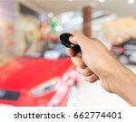 car key. | Shutterstock . vector #662774401