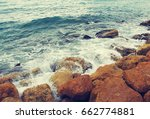 Sea And Stones  Toned. Strong...