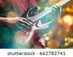 music. | Shutterstock . vector #662782741