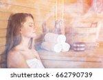 sauna.   Shutterstock . vector #662790739