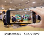 augmented reality for smart... | Shutterstock . vector #662797099