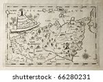 old map of capuchins province... | Shutterstock . vector #66280231