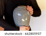 cremation  people and mourning... | Shutterstock . vector #662805937