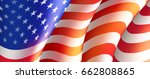 fourth of july independence day ... | Shutterstock .eps vector #662808865
