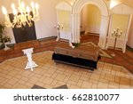 funeral and mourning concept  ... | Shutterstock . vector #662810077