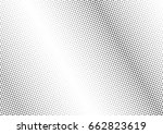 abstract halftone dotted... | Shutterstock .eps vector #662823619