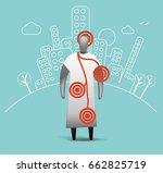 patient symptoms   Shutterstock .eps vector #662825719