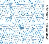 geometric random lines pattern. ...   Shutterstock .eps vector #662826079