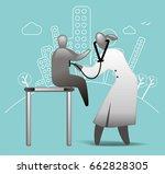 pediatrician   Shutterstock .eps vector #662828305