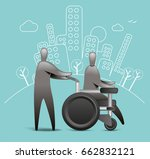 patient recovery   Shutterstock .eps vector #662832121
