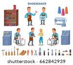 Shoemaker Cartoon Character...