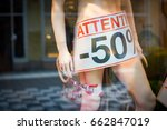 tag in the foreground showing... | Shutterstock . vector #662847019
