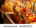 fruit cups | Shutterstock . vector #662852521