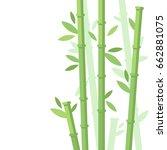 vector illustration of green... | Shutterstock .eps vector #662881075