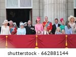 queen elizabeth   princess... | Shutterstock . vector #662881144