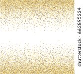 gold glitter background vector... | Shutterstock .eps vector #662895334