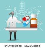 pharmacist   Shutterstock .eps vector #662908855