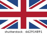 united kingdom flag. great... | Shutterstock .eps vector #662914891