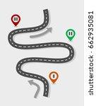 roadmap | Shutterstock .eps vector #662935081