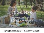 family parentage home love... | Shutterstock . vector #662949235
