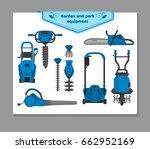 vector illustration  set of... | Shutterstock .eps vector #662952169